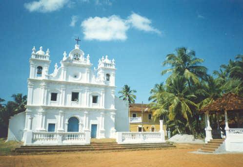 A Typical Church in Goa