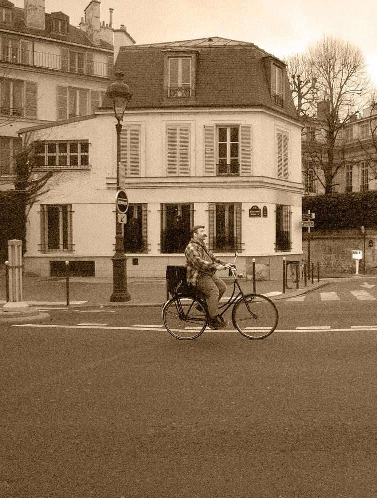 A vélo à paris