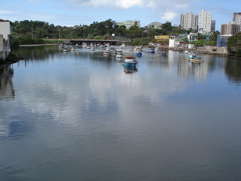 A view from the Ayrton Senna Bridge