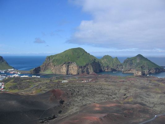 A view from the Top - Eldfell, Vestmannaeyjar