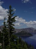 A View of Crater LAke