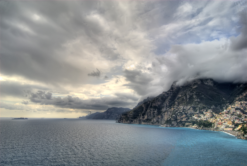 A view of Positano from Prajano