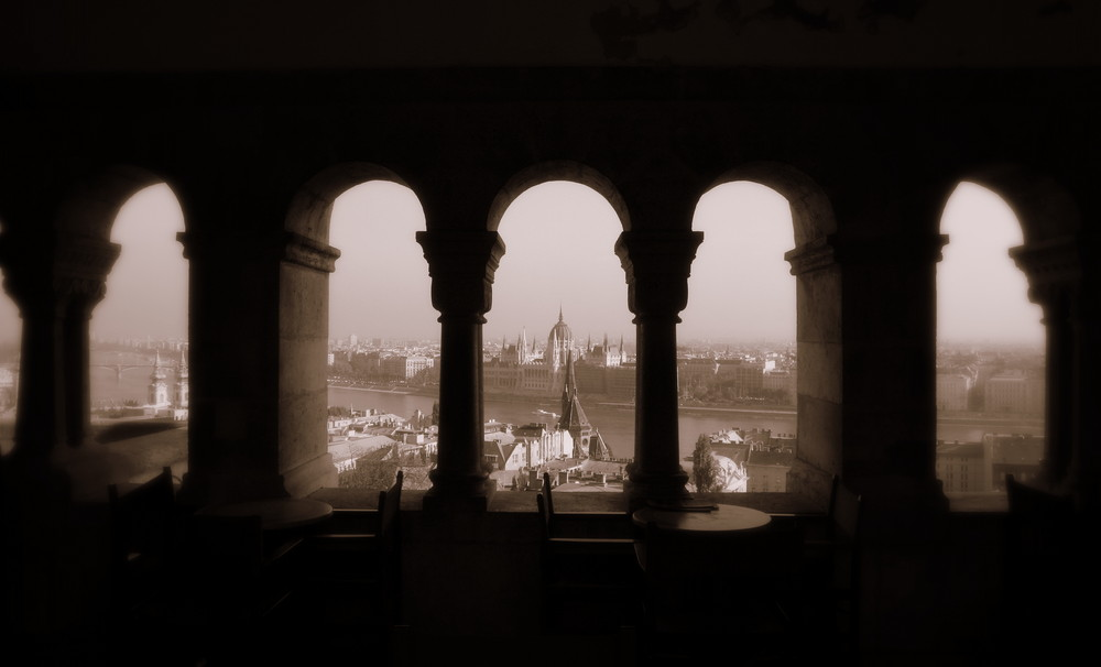 a view on Budapest