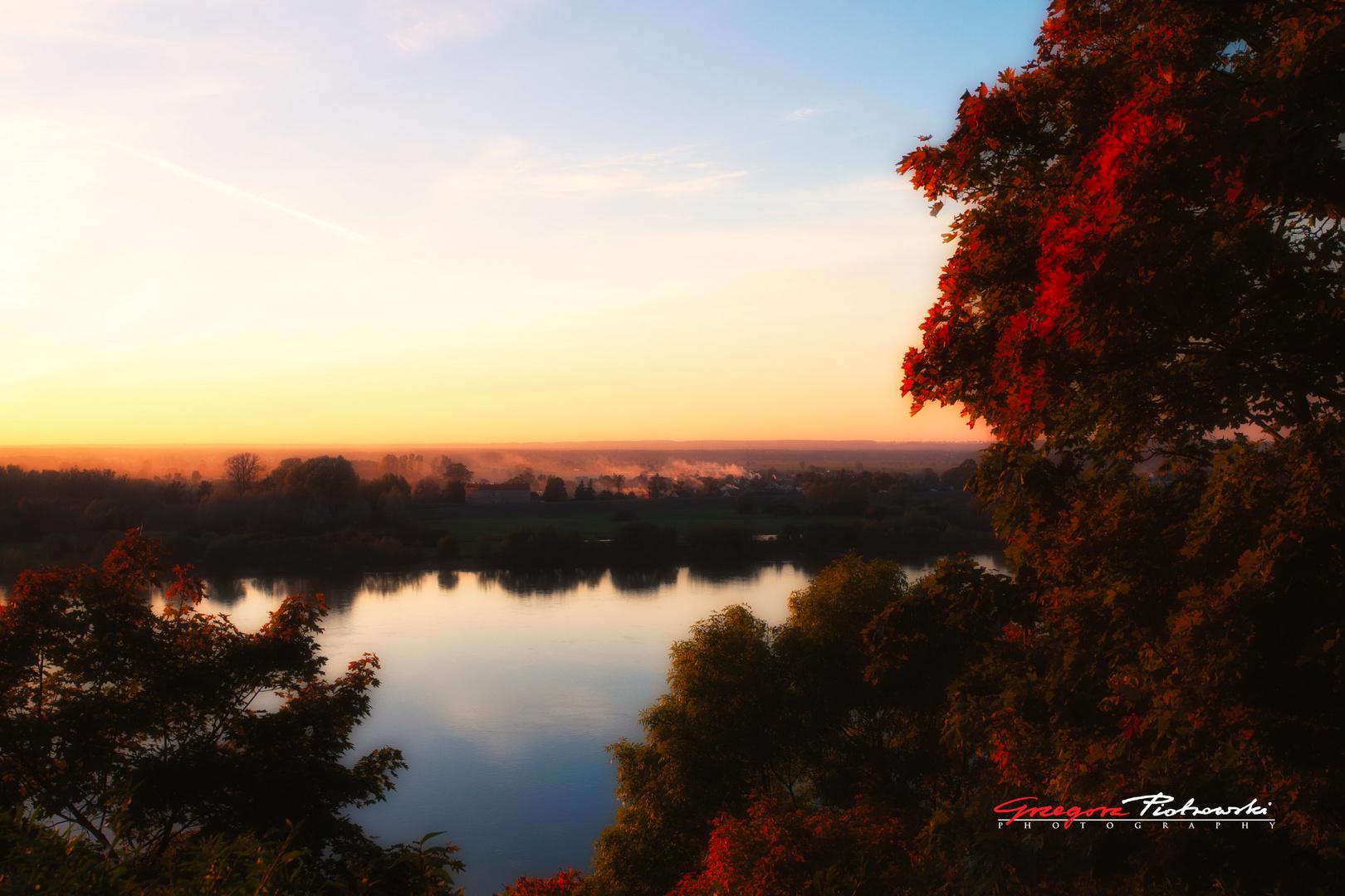 A View on Vistula River - Grudziadz - Poland