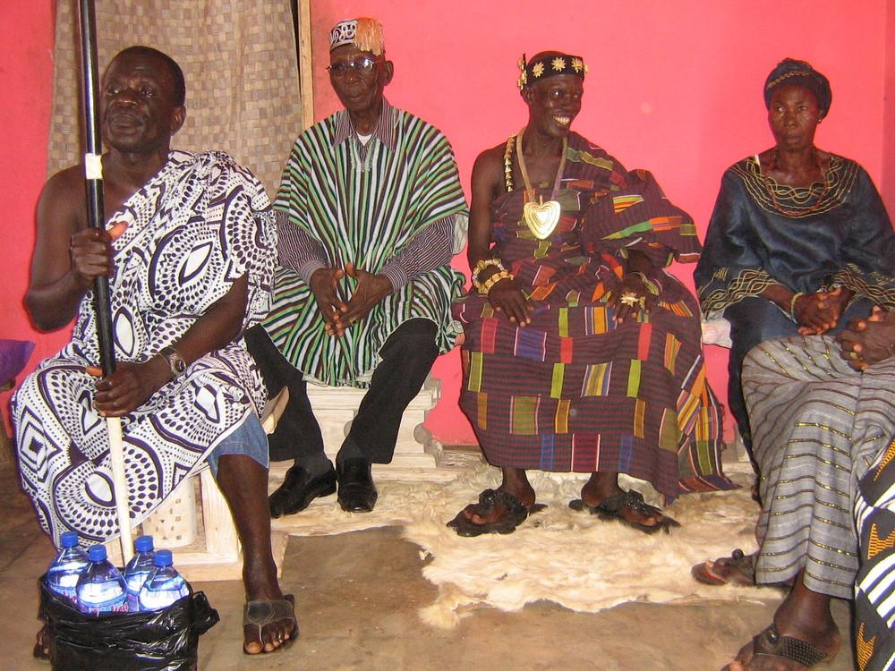 A visit to King Nana Arfre