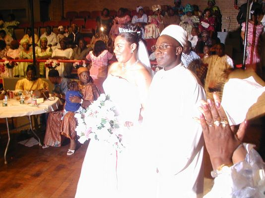 A WEDDING DAY IN NEW JERSEY, IT'S A SIERRA LEONEAN WEDDING,CLAMOUR AND CULTURE