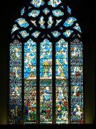 A Window in St Mary's Church, Rye