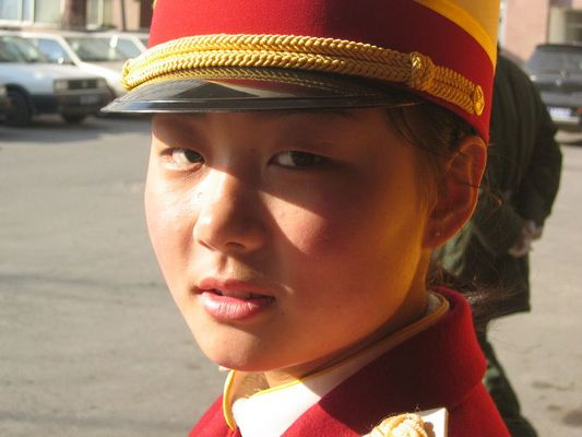 a young girl in Beijing