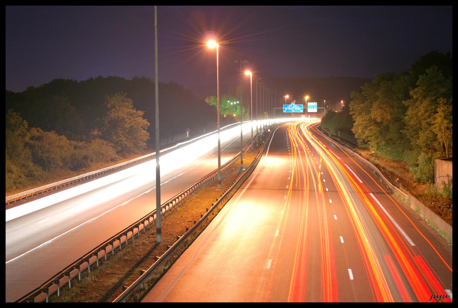 A31 by night