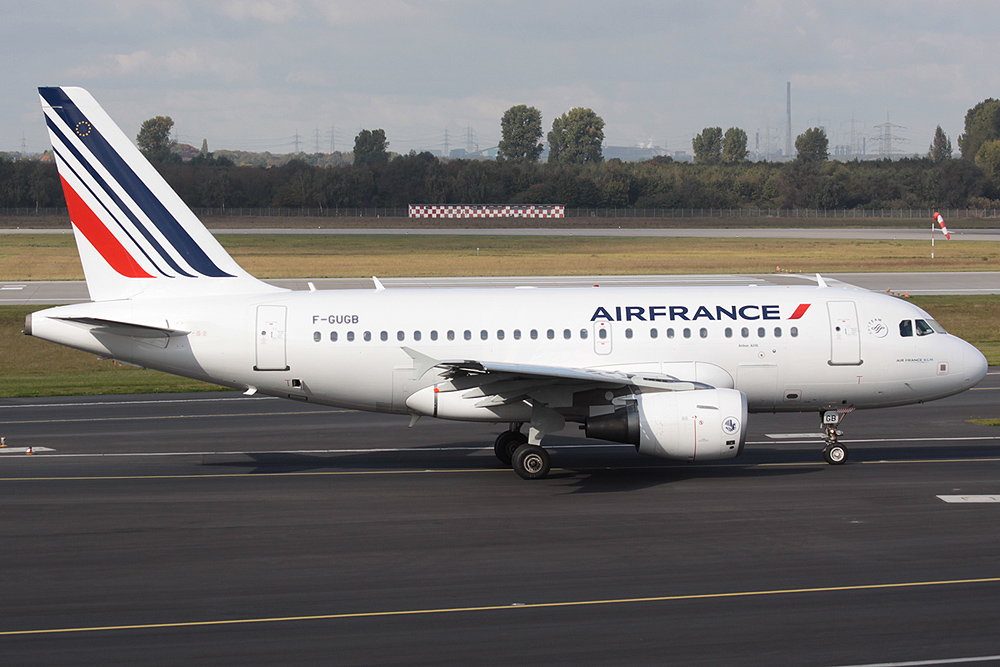"A318-100 Air France F-GUGB ""new colours"""