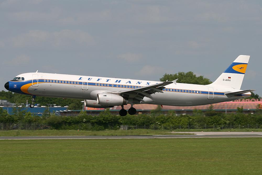 A321-100 Lufthansa D-AIRX
