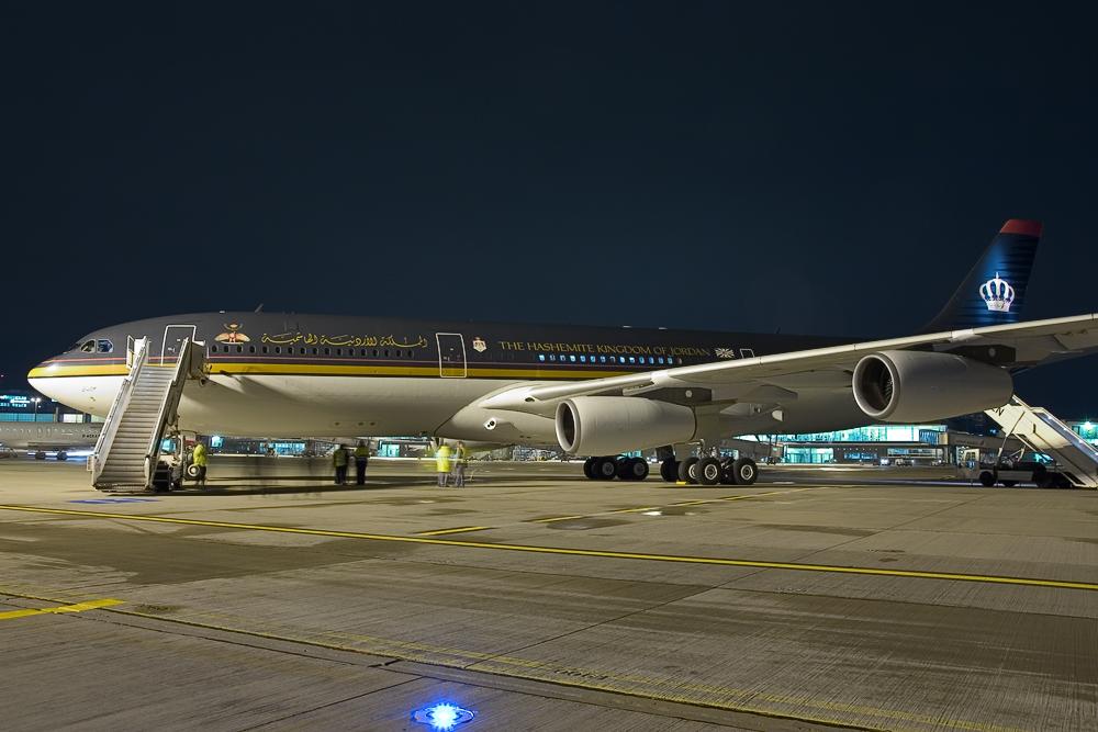 A340 des König von Jordanien