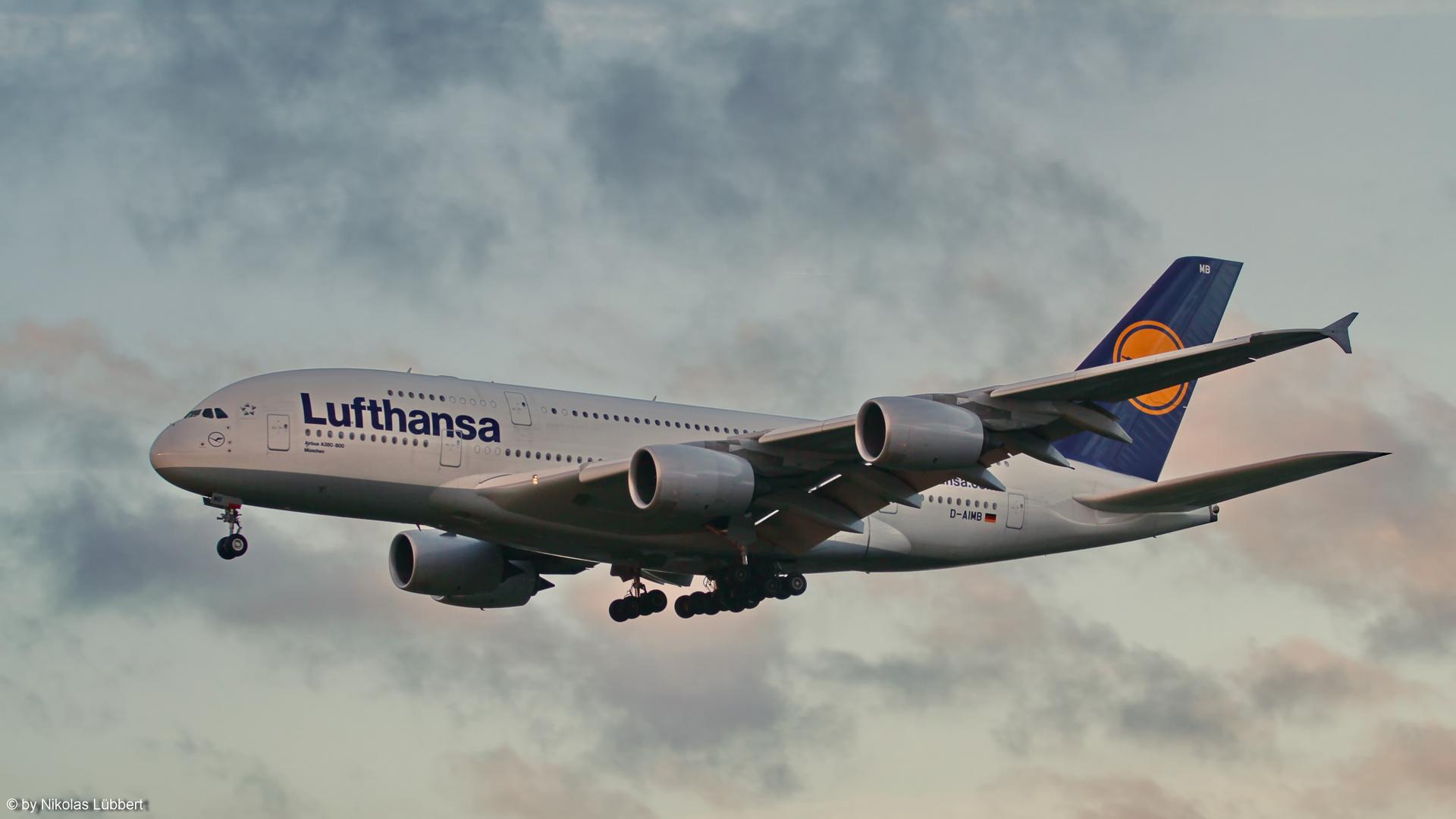 A380-800 @ HAM