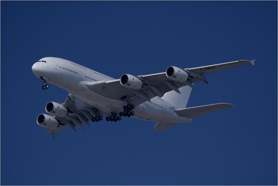 A380 am bayrischen Himmel...