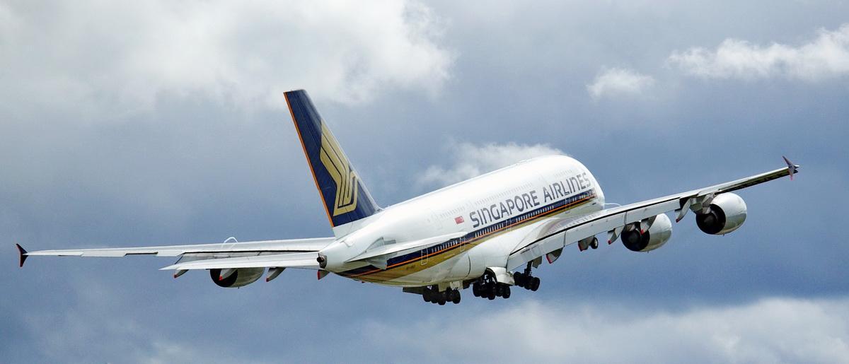 A380 Bye Bye Switzerland