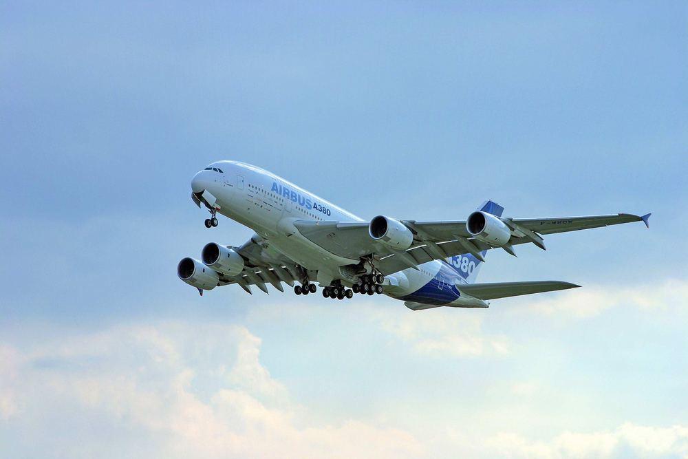 A380 in Hamburg