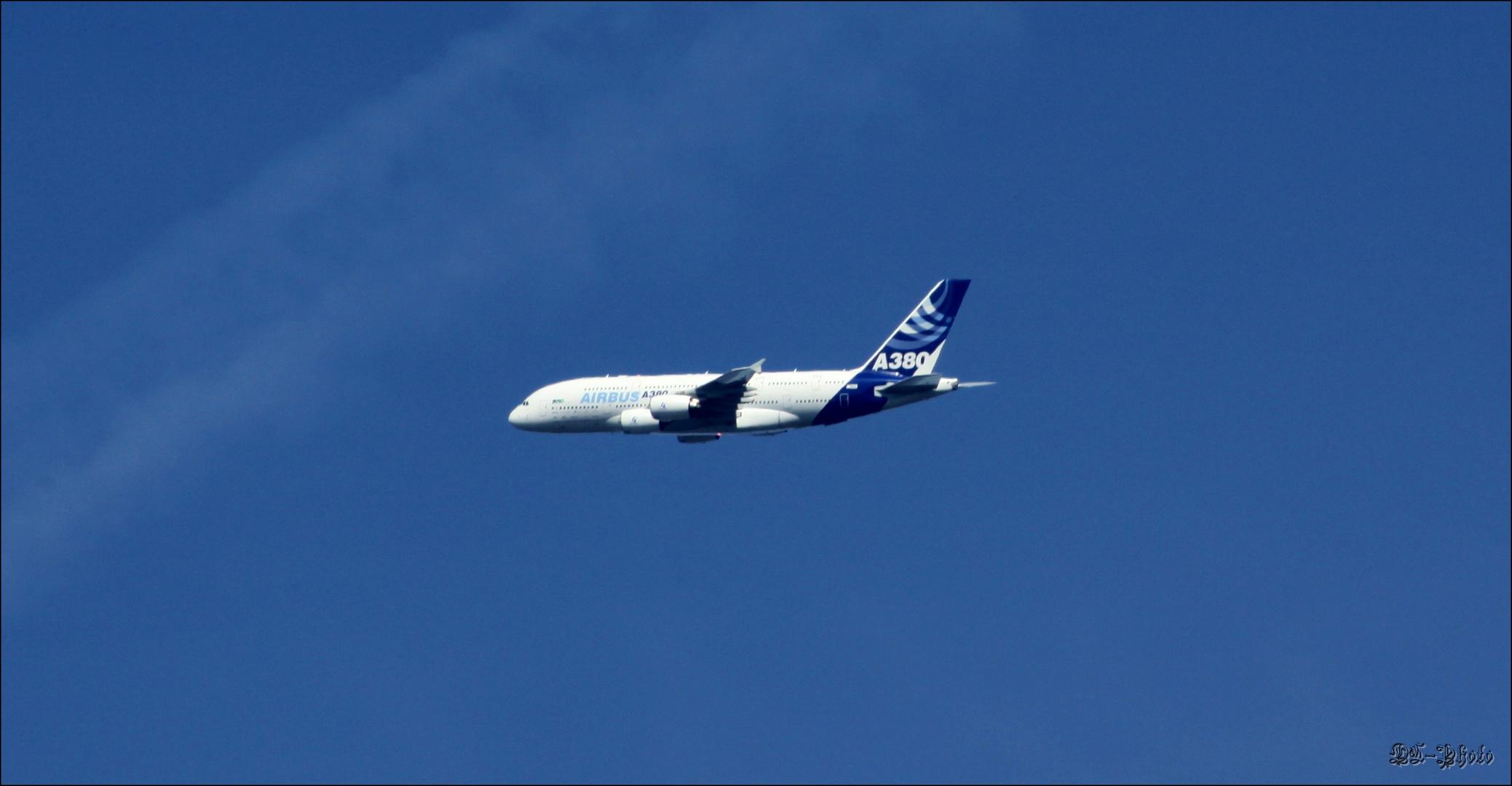 A380-Landeanflug FFM