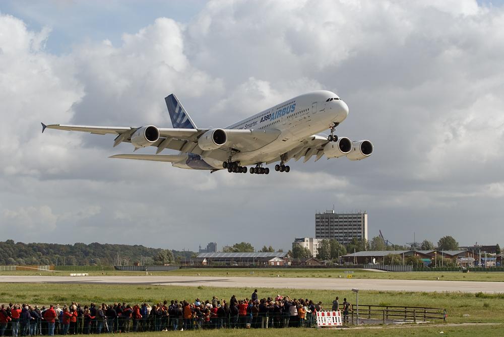 A380 MSN1 in XFW