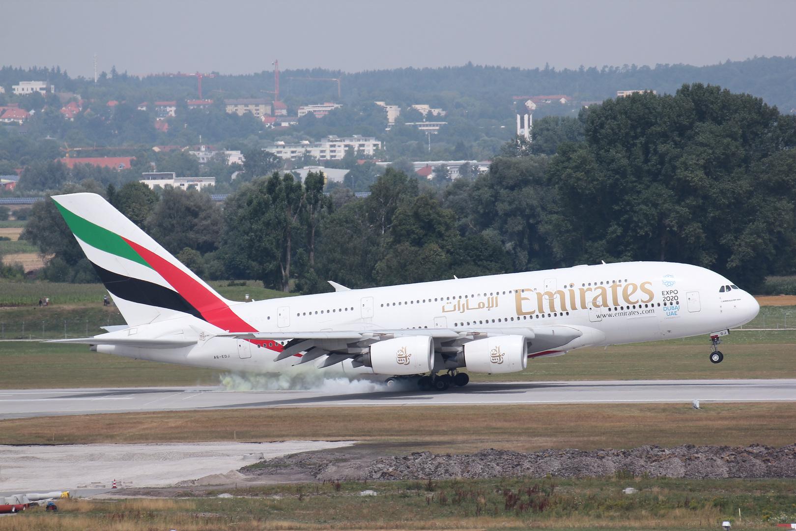 A380 Munich Airport