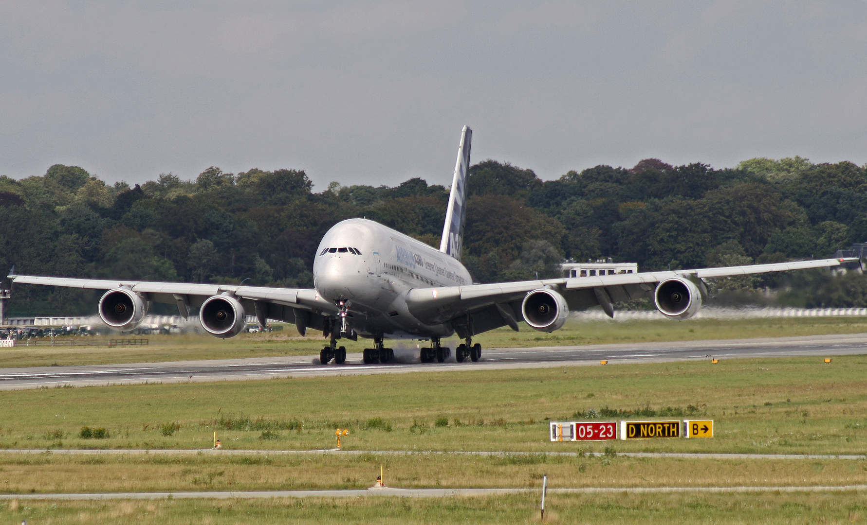 A380 Prototyp #1 visit XFW