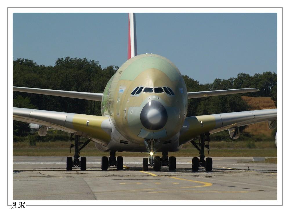 A380 RETOUR D'ESSAIS