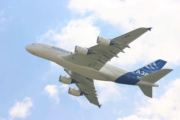A380 von unten