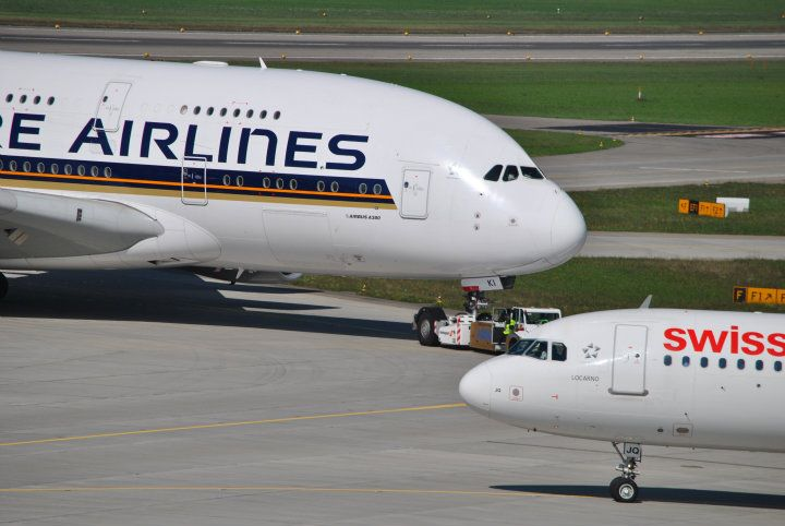 A380 vs A320