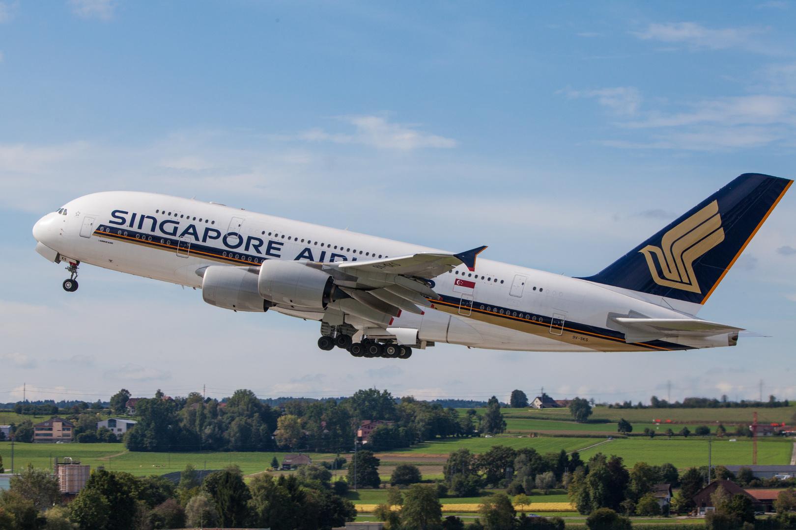 A380 Zürich Flughafen