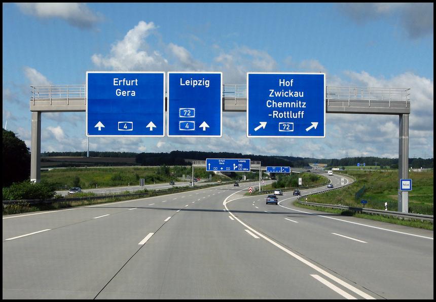 A4-A72 Kreuz Chemnitz