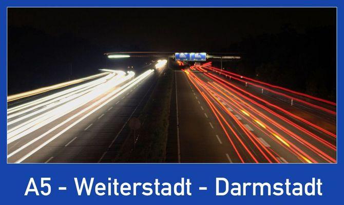 A5 - Weiterstadt - Darmstadt