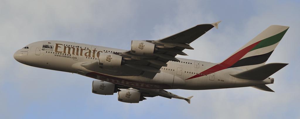 A6-EDE - Emirates - Airbus-A380