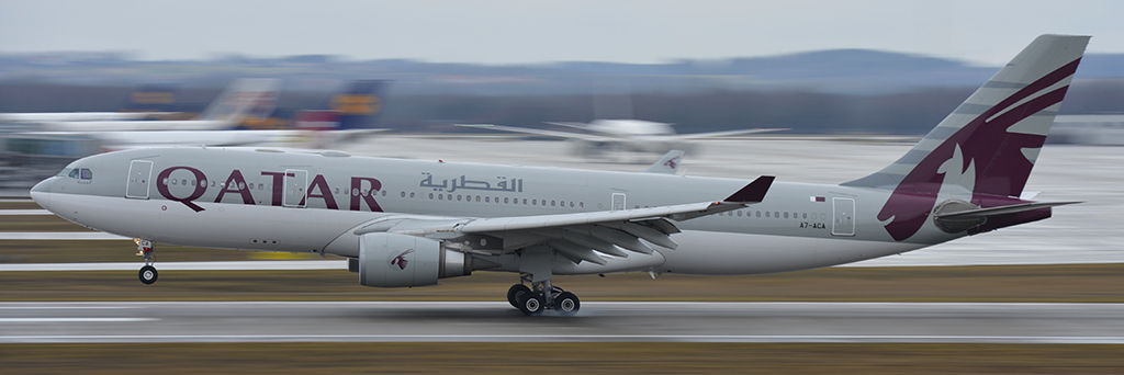 A7-ACA - Qatar Airways - Airbus A330