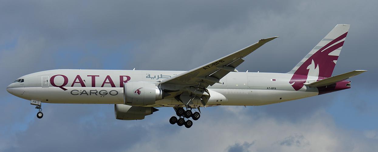 A7-BFB - Qatar Airways Cargo - Boeing 777