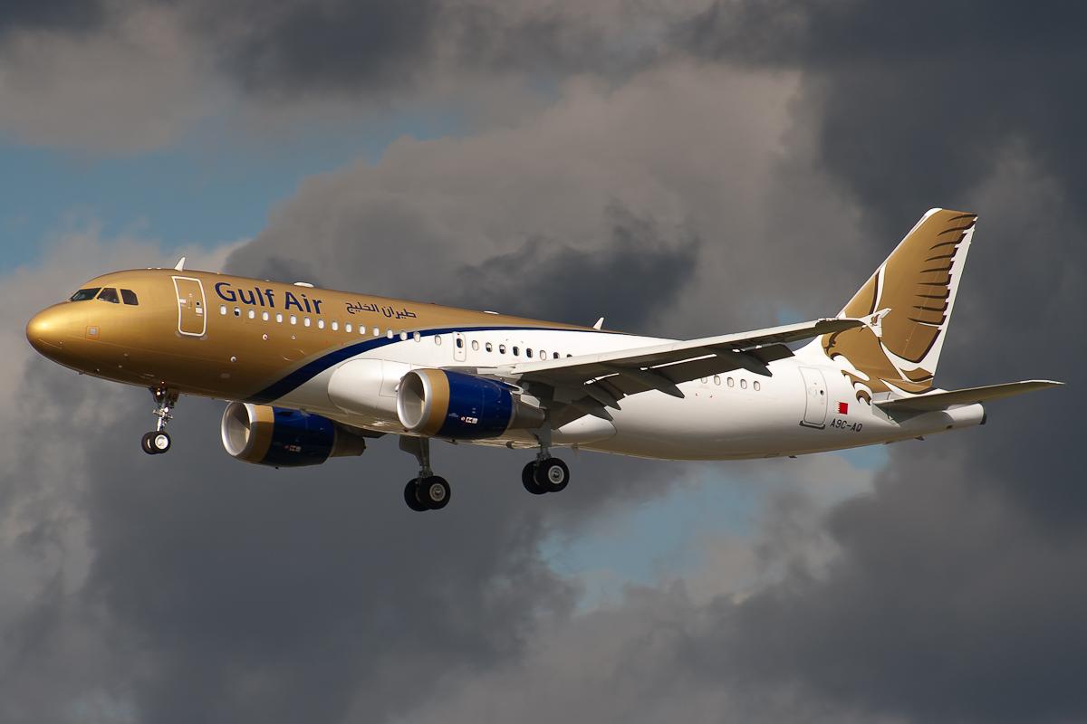 A9C-AQ Gulf Air Airbus A320-200