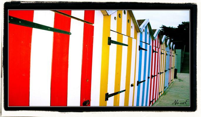 aaaah les vacances ! pleines de couleur !