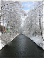 Aabach im Winter