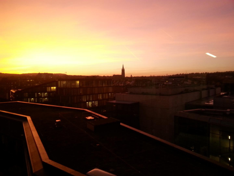 Aachen - AM Sonnenuntergang