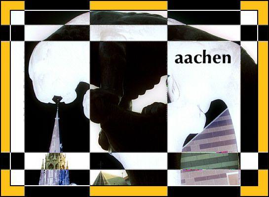 Aachen-Komposition 2003   -  natürlich schwarz-gelb