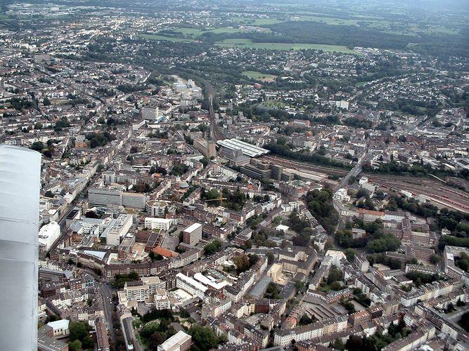Aachen von oben
