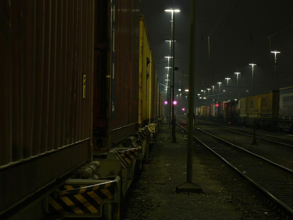 Aachen West bei Nacht