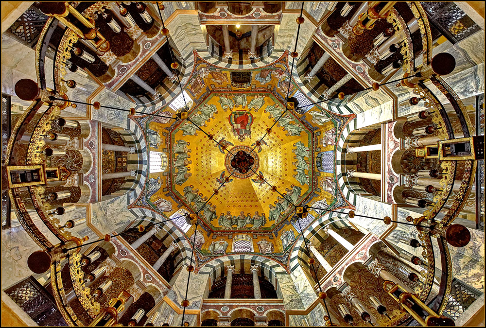 Aachener Dom - Das karolingische Oktogon