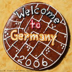"Aachener Printe ""Welcome to Germany"" zur FIFA-WM 2006"