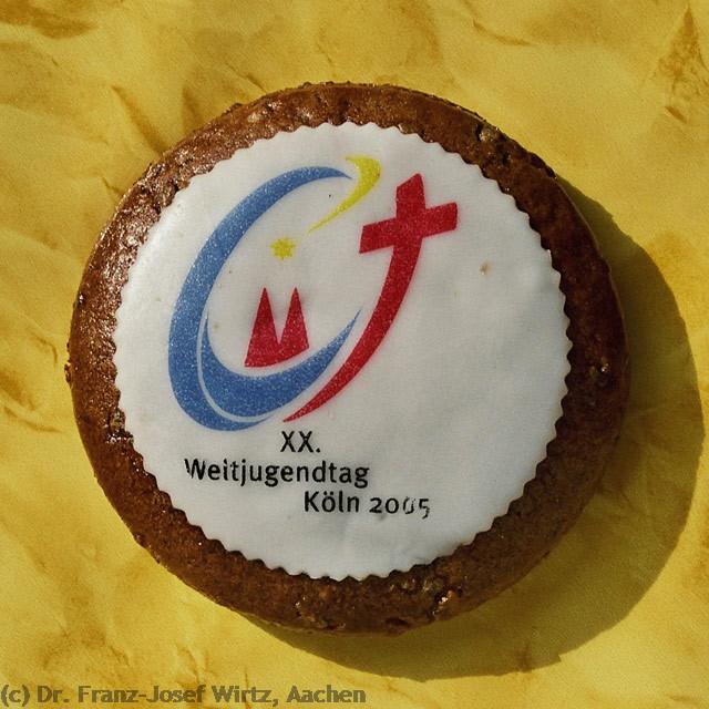 Aachener Printe zum XX. Weltjugendtag 2005 in Köln