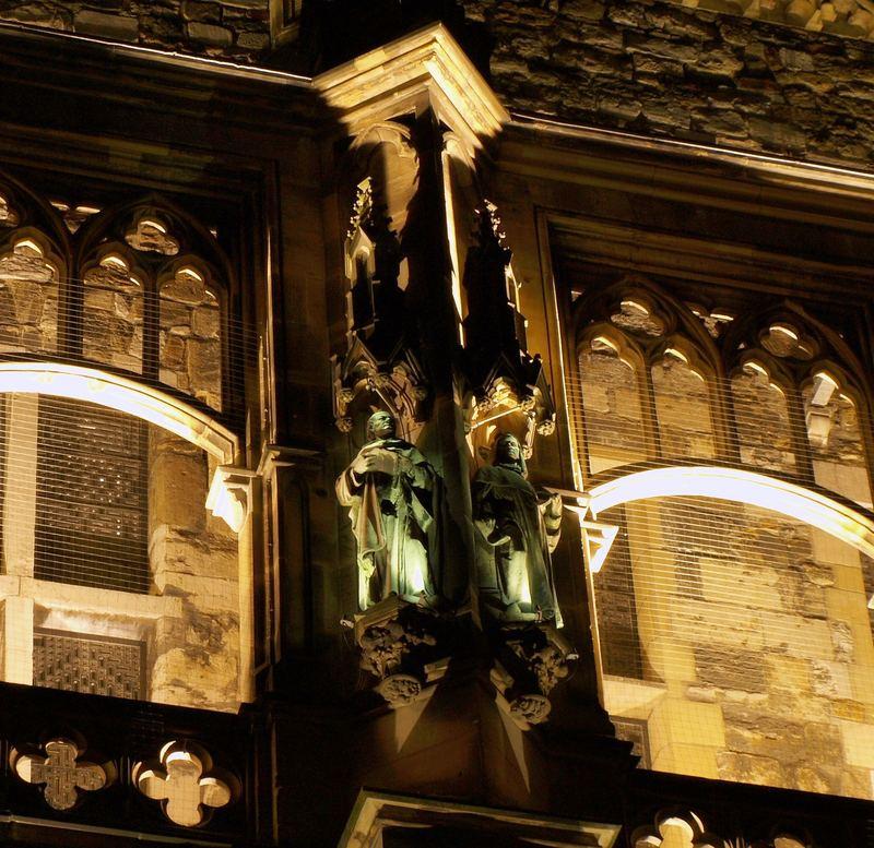 Aachener Rathaus bei Nacht (Heilige)