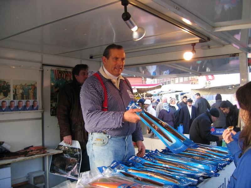 Aale Dieter wird nervös Fischmarkt 5 Minuten vor Schluß
