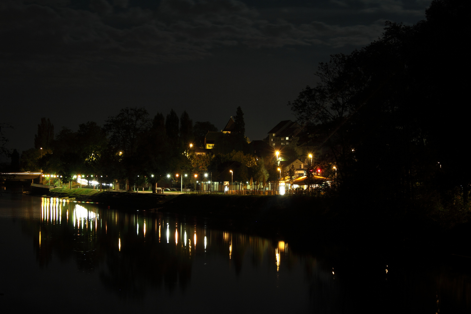 Aarau by night
