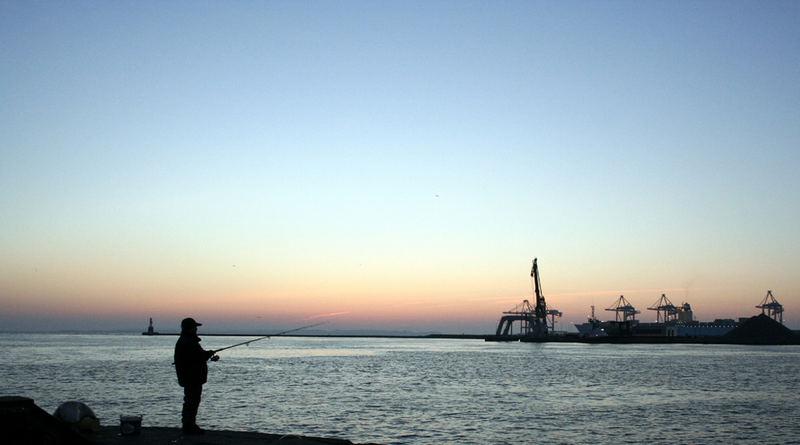 Aarhus Harbor, 5 o-clock, 2