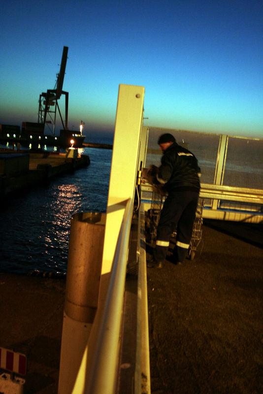 Aarhus Harbor, 5 o-clock