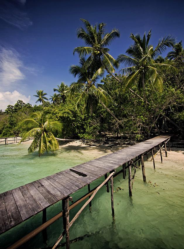 ab auf die Insel...