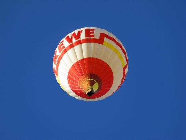 Ab in den Himmel: mit REWE :P